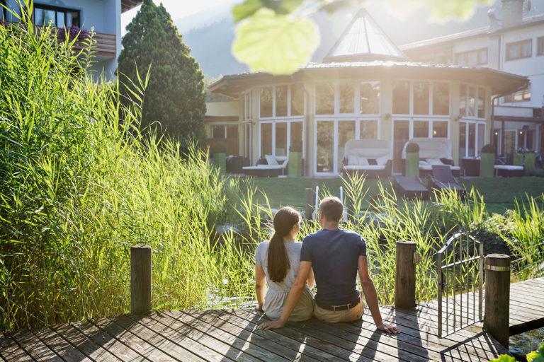 Hotel Trattnig mit Naturbadeteich