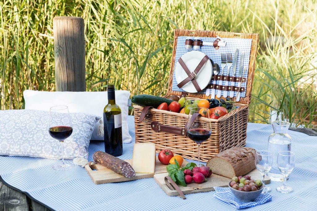 Picknick am Teich, Kärnten