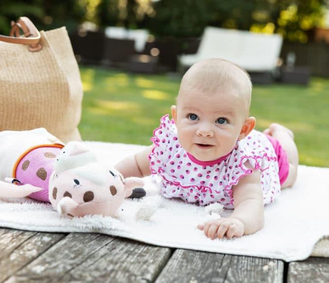 Urlaub mit Baby im Gartenhotel