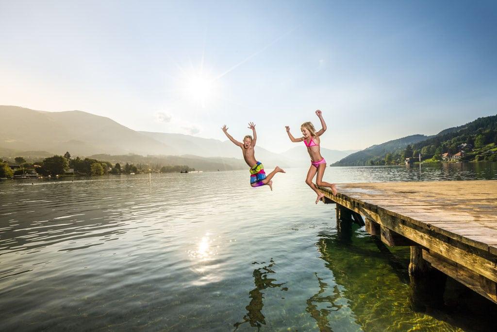 Familienurlaub am See, Kärnten
