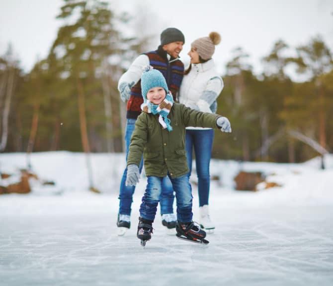 Eislaufen in Kärnten