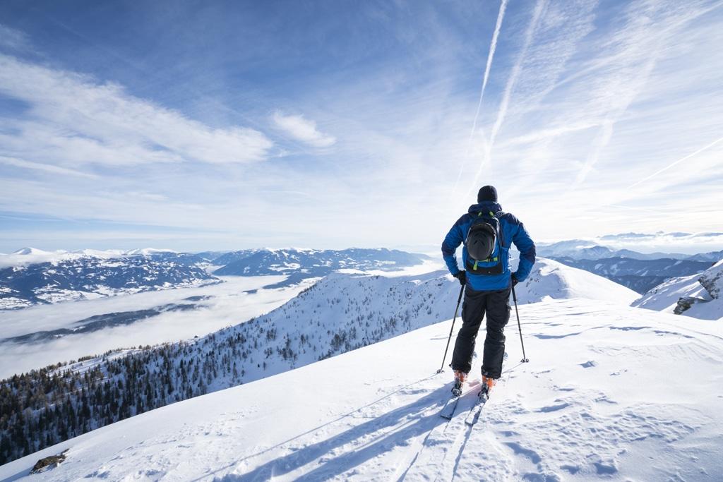 Skifahren Nähe Millstatt